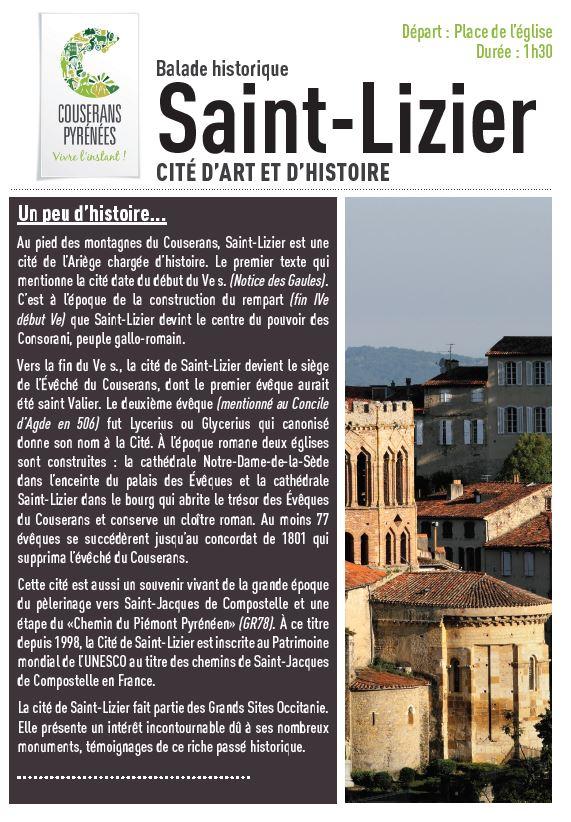 Balade à Saint-Lizier
