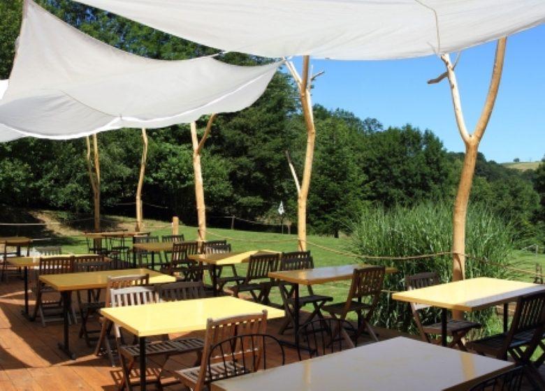 Terrasse restaurant Le Comptoir (Personnalisé)