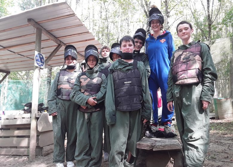 Groupe Scolaire paintball