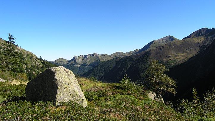 Au dessus du plateau de Garbettou