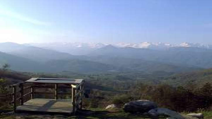 Le point de vue au Col d'Ayens