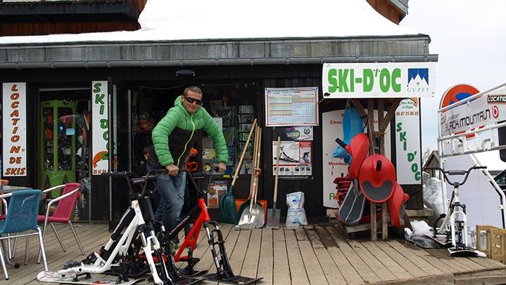 devanture de Ski d'Oc