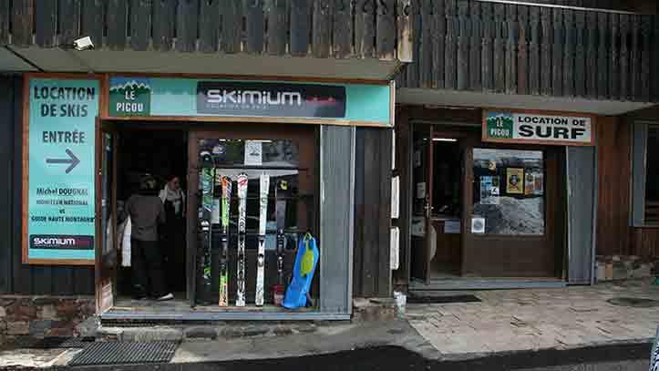 devanture du magasin Skimium