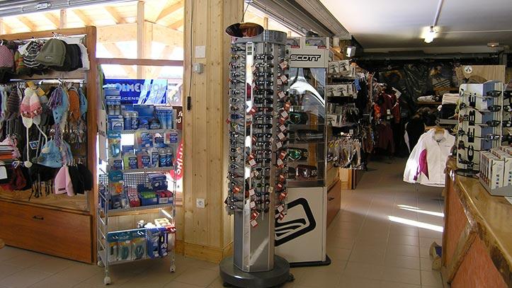magasin de matériel de montagne
